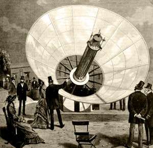 Mouchot's Solar Concentrator