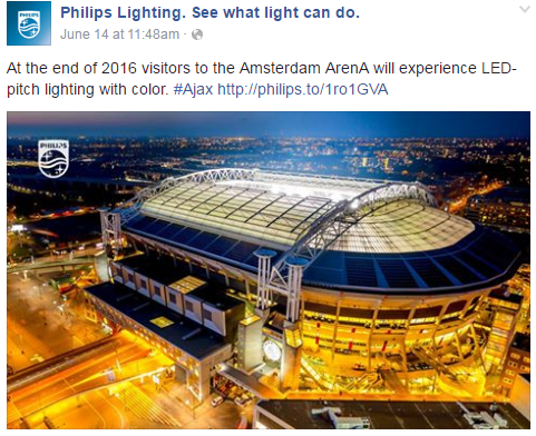 philips facebook led