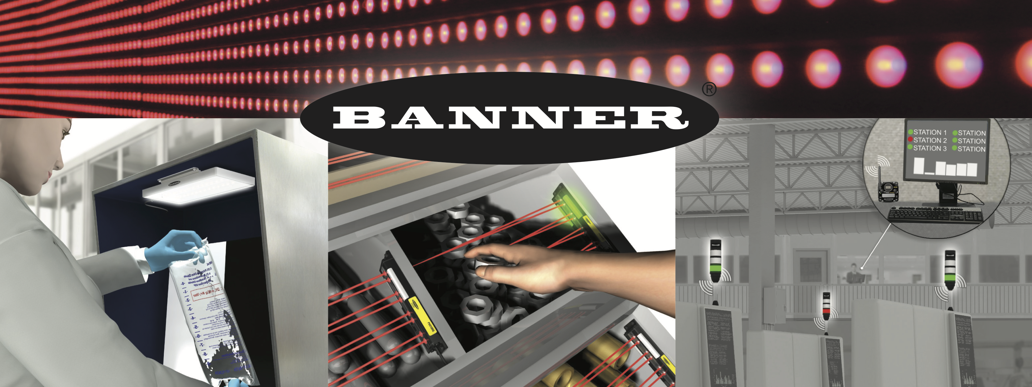 Banner Lighting Solutions for the Pharma Industry