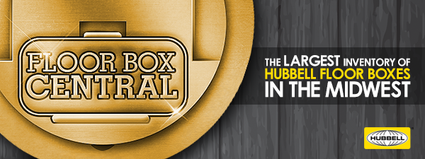 Hubbell floor boxes and poke throughs