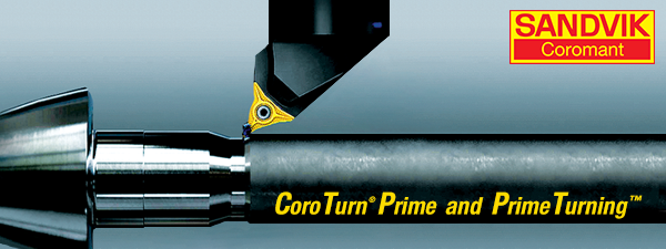 Sandvik Coromant Introduces CoroTurn Prime and Prime Turning