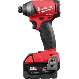 Milwaukee® M18™ Cordless Impact Driver Kit, 1/4 in Hex Drive