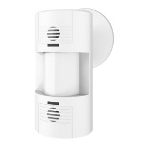 Dual Technology wall-mount occupancy sensor uses both PIR and ultrasonic sensors.