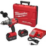 Milwaukee® M18 FUEL™ Cordless Drill Driver Kit, 1/2 in Keyless