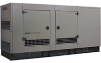 The 80/100/125/150 kW ERESD model generator for light commercial applications.