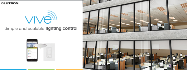 Lutron vive commercial lighting control solution is easy to install lutron vive commercial lighting control solution is easy to install and simple to manage mozeypictures Choice Image