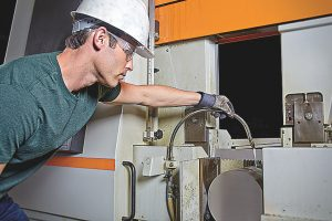 The site survey includes a 13-point audit of bandsaw operations focusing on the most important parameters.