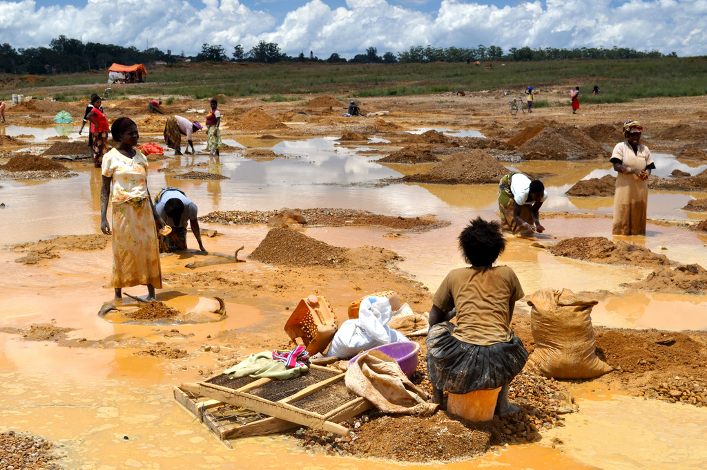 Copper in Congo World Economy