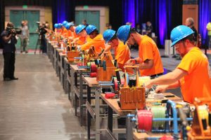 Contestants face off in timed trials at IDEAL National Championship