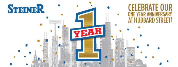 Steiner Electric's Hubbard Street facility's 1-year anniversary